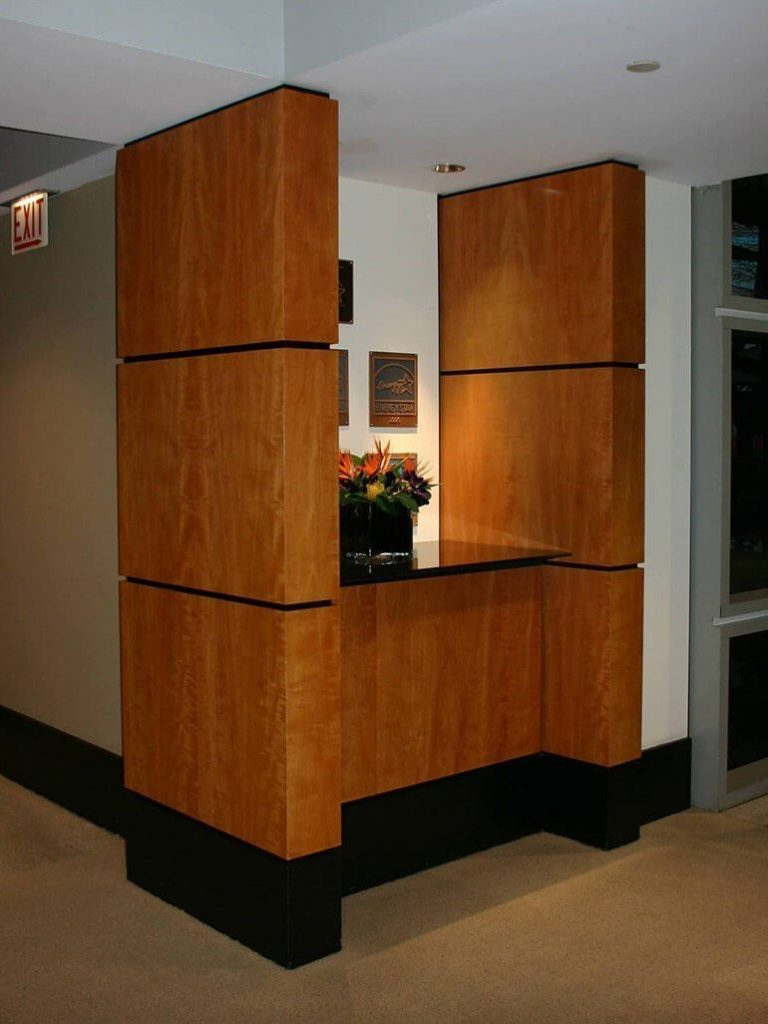 Custom architectural column panels