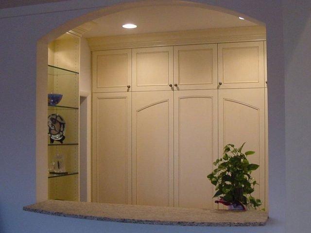 Bar storage cabinets