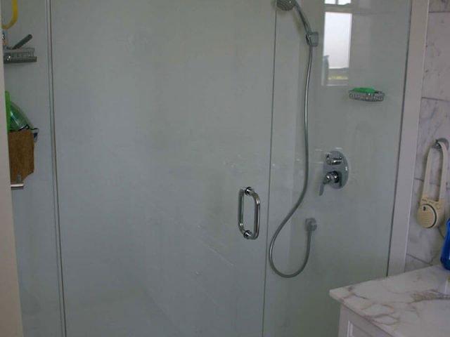 Corian shower surround