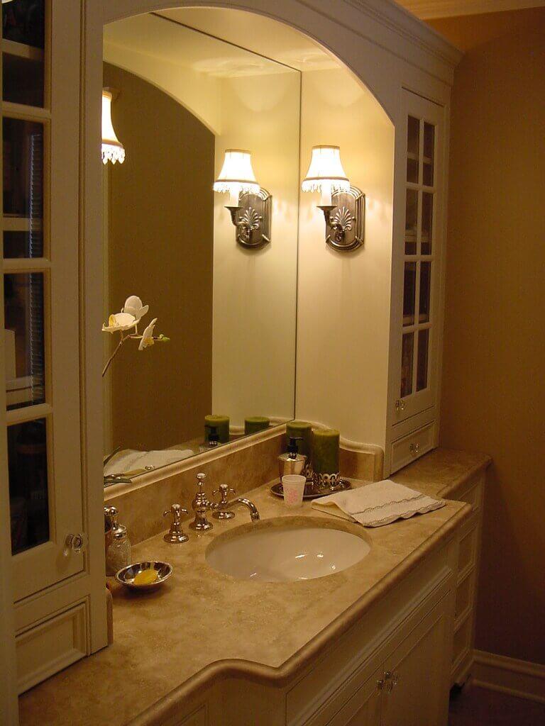 Picture of: Custom Bathroom Vanities And Bathroom Cabinets