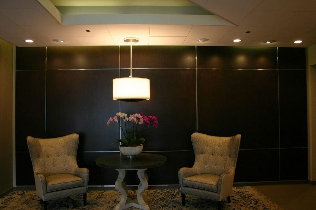 Stained and lacquered wall panels